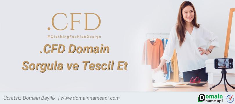 .CFD Domain Sorgula ve Tescil Et