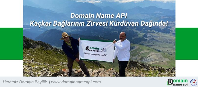 Domain Name API Kaçkar Dağlarının Zirvesi Kürdüvan Dağında!
