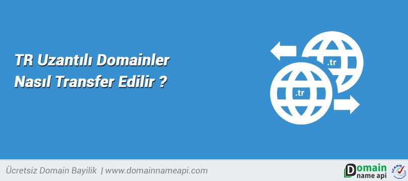TR Uzantılı Domainler Nasıl Transfer Edilir?