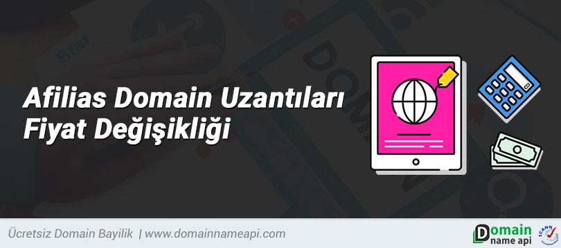 Afilias Domain Uzantıları Fiyat Değişikliği Hakkında