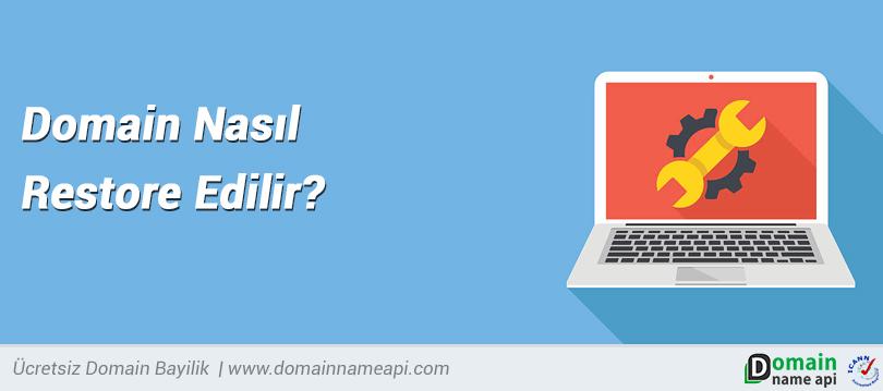 Domain nasıl restore edilir?