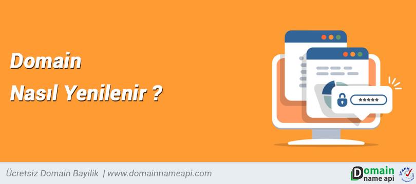 Domain nasıl yenilenir?